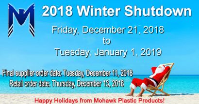 Winter shutdown 2018 announced